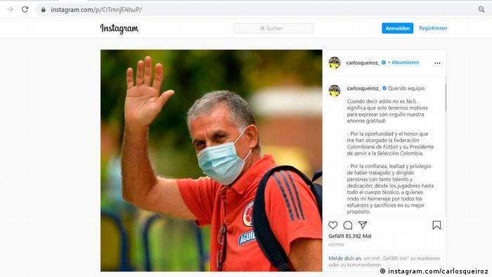 طرفداران فوتبال ایران در اینستاگرام از کارلوس کیروش ستایش میکنند و خواستار بازگشت وی به ایران شدهاند