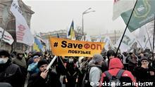 Ukraine Kiew Unternehmer Proteste