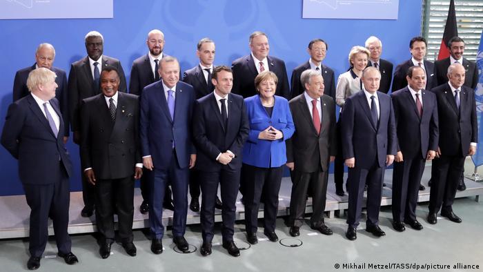 Berlin Internationale Libyen-Konferenz