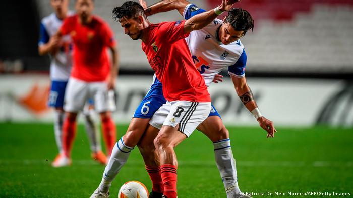 Portugal Lissabon | UEFA Europa League | Benfica vs Lech Poznan