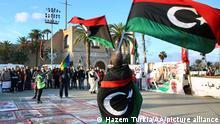 Libyen Proteste gegen Haftar-Truppen in Tripolis