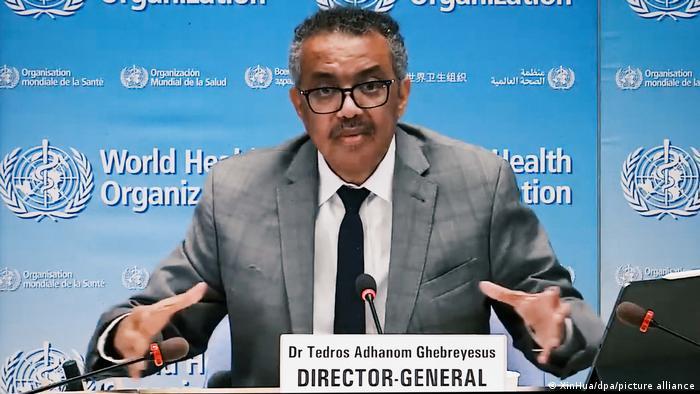 Director-General of the World Health Organization Tedros Adhanom Ghebreyesus