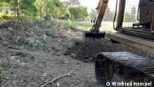Chile Villa Baviera | Ausgrabung | Colonia Dignidad