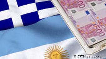 Symbolbild Griechenland Argentinien Geld