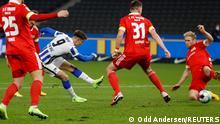 Deutschland Bundesliga | Hertha BSC v 1. FC Union Berlin Tor Krzysztof Piatek