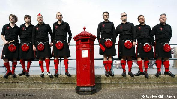 Red Hot Chilli Pipers Flash-Galerie