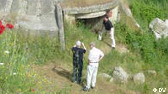 Ein Bunker aus der Zeit des Kommunismus (Foto: Aida Cama)