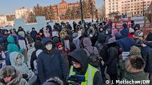 Russland Chabarowsk | Demonstration für Ex-Gouverneur Sergej Furgal