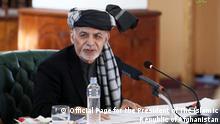 Afghanistan Kabul | Sitzung: Ashraf Ghani
