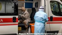 Ukraine Kiew Coronavirus Test