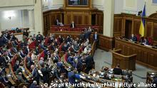 Ukraine Kiew Haushaltsdebatte im Parlament