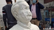 In Bangladesh, on midnight of 4 December 2020, miscreants vandalised the statue of the Father of the nation, Bangabandhu Sheikh Mujibur Rahman.