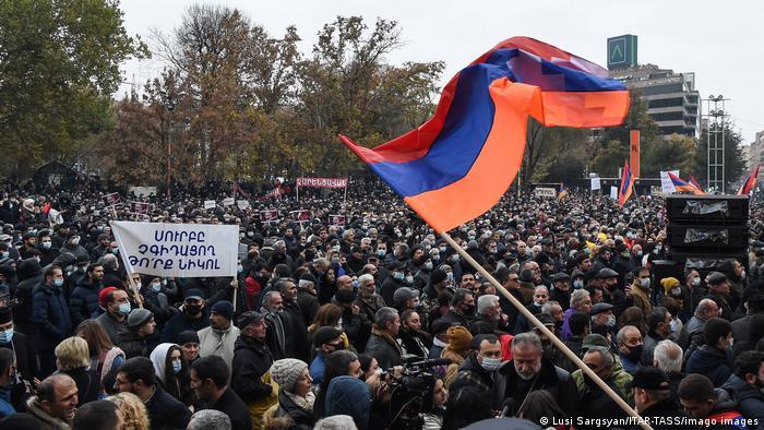 Антиправительственные протесты в Ереване, 5 декабря 2020 года