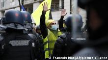 مظاهرة ضد قانون الأمن المقترح في باريس