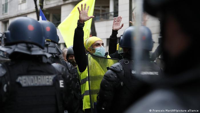 Frankreich I Polizei-Demo in Paris