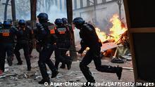 Frankreich I Proteste in Paris