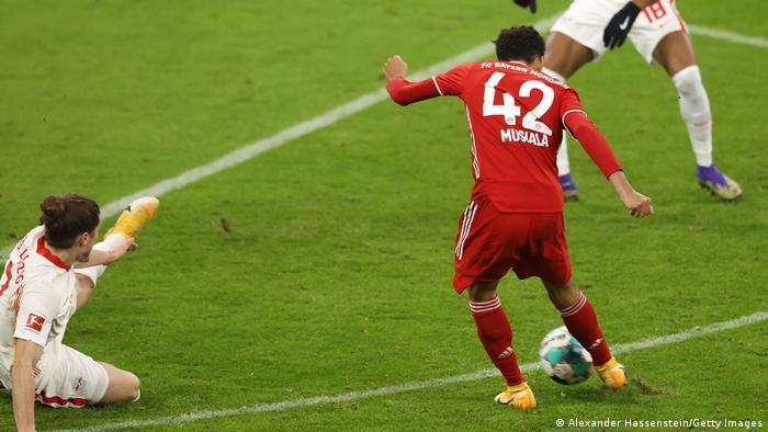 Jamal Musiala scores