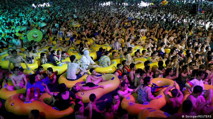 Bild des Jahres 2020 I China I COVID-19 I Wuhan Maya Beach Park