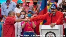 Venezuela Parlamentswahlen Wahlkampf Maduro