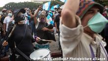 Guatemala Protest Alejandro Giammattei Protest
