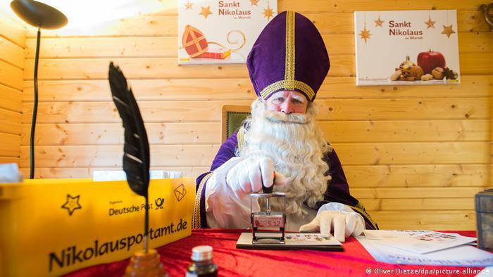 BdTD | Deutschland | Nikolauspostamt in St. Nikolaus eröffnet