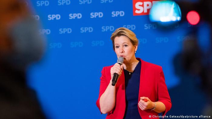 Deutschland Landesparteitag der SPD Berlin | Franziska Giffey