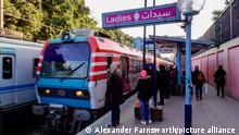 Ägypten Kairo   Bahnstation