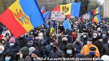 Moldawien | Proteste in Chsinau