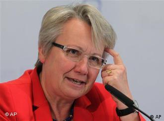 Menteri Pendidikan Annette Schavan