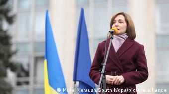 Новый президент Молдовы Майя Санду