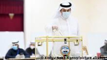 Kuwait   Parlamentswahl   Stimmabgabe