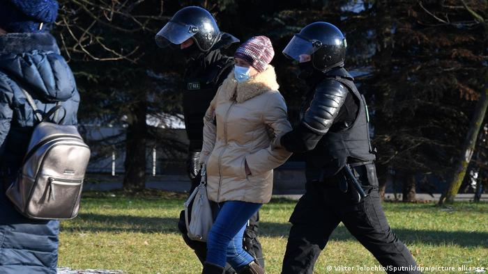 Belarus Minsk | Demonstrationen | Festnahmen