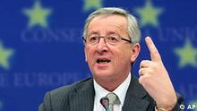 Belgien EU Finanzkrise Jean Claude Juncker Finanzminister
