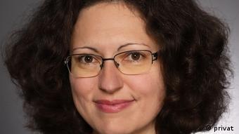 Dana Alexandra Scherle leitet die Rumänische Redaktion der DW