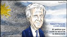 Karikatur von Vladdo, Uruguay in Trauer.