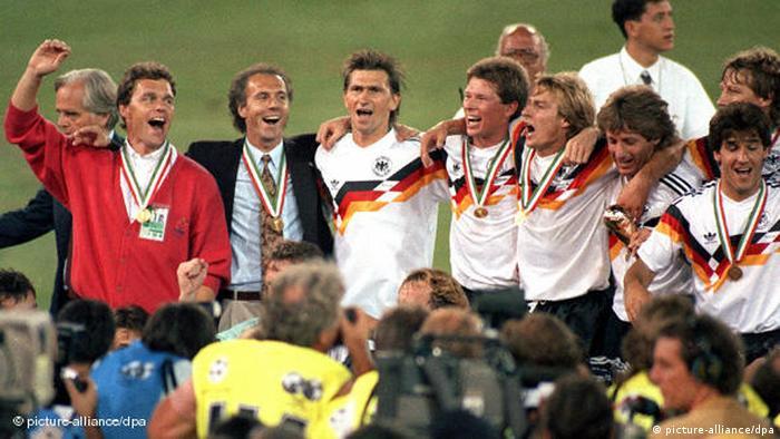 WM 1990 Italien Beckenbauer Flash