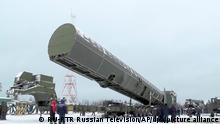 Russland Sarmat-Interkontinentalrakete
