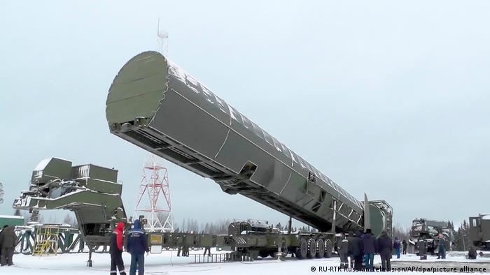 Cohete intercontinental ruso Sarmat