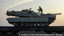 US-Panzer Symbolbild Waffenhandel