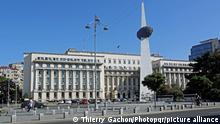 Rumänien Bukarest Victoria-Palast