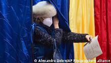 Rumänien Parlamentswahlen | Wahllokal