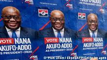 Ghana Wahlplakat Präsident Nana Addo Dankwa Akufo-Addo