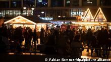 Glühwein Vorweihnachtszeit in Berlin