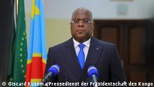 Zentralafrika Kongo Kinshasa Präsidenten Félix Tshisekedi