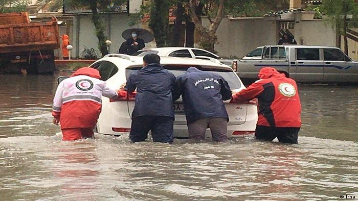 Iran Hochwasser Khuzestan Wetter