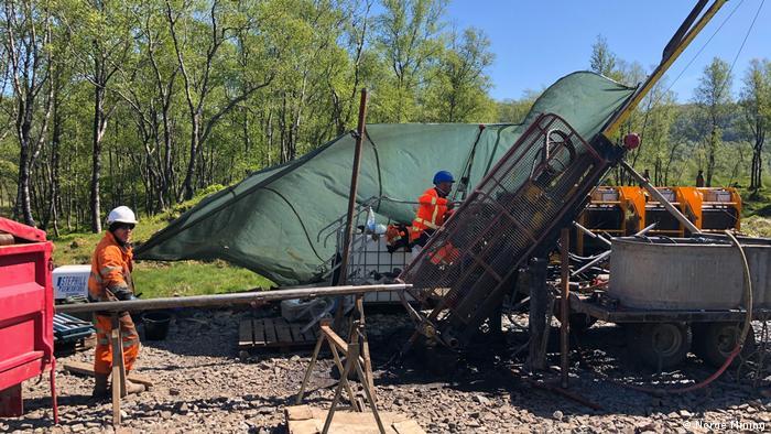 Проучванията на Norge Mining се провеждат от 2018 насам