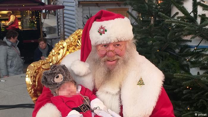 Willi Dahmen es Santa Claus por vocación.