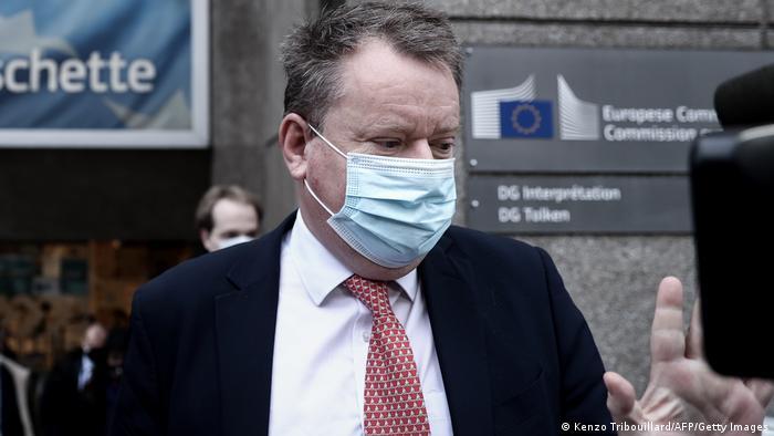 Belgien Brexit David Frost