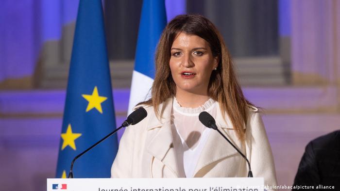 Frankreich Marlene Schiappa Ministerin für Staatsbürgerschaft
