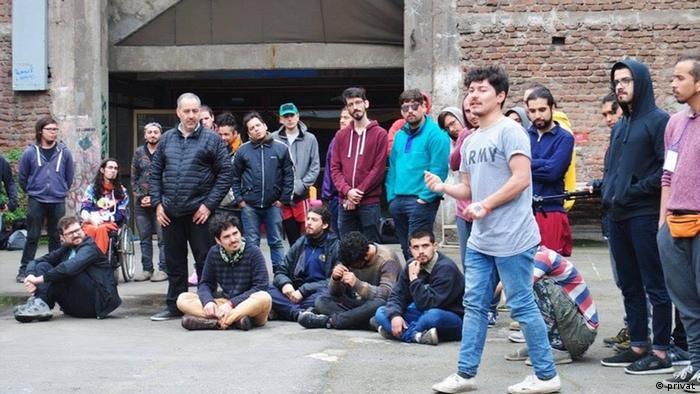 Nationales Treffen antipatriarchalischen Männern in Chile